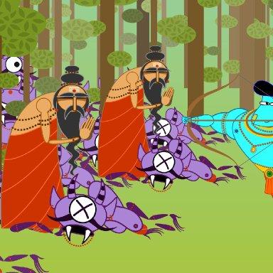 Ram Shoots Demons