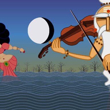 Sita Cries A River